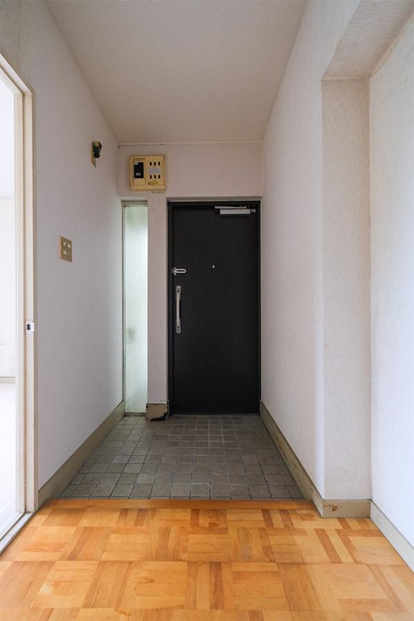 玄関周りの広さも十分。