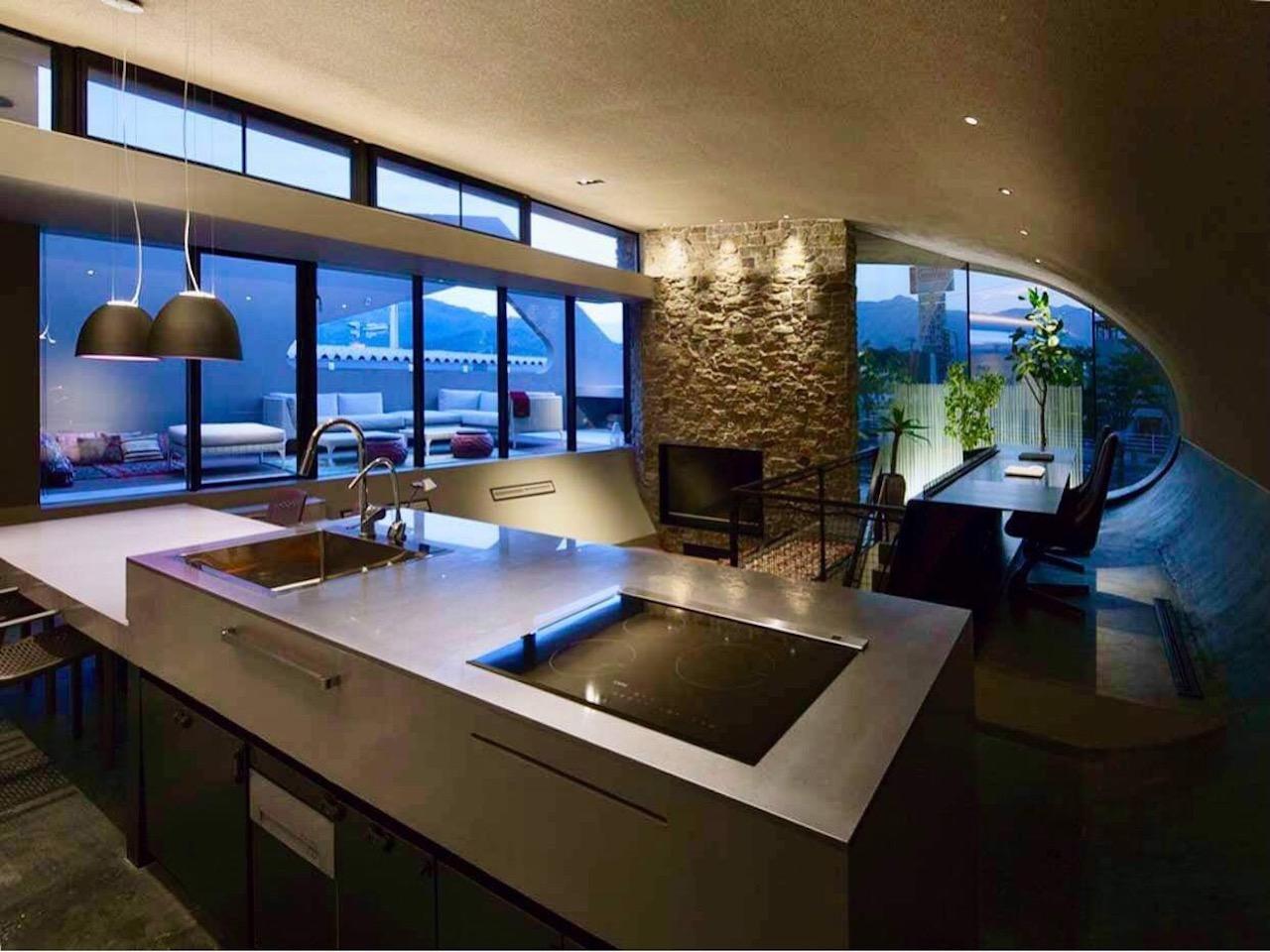 キッチンからの景色。