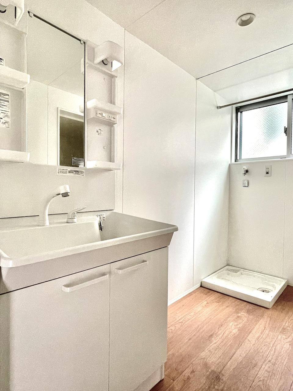 1階洗面所。