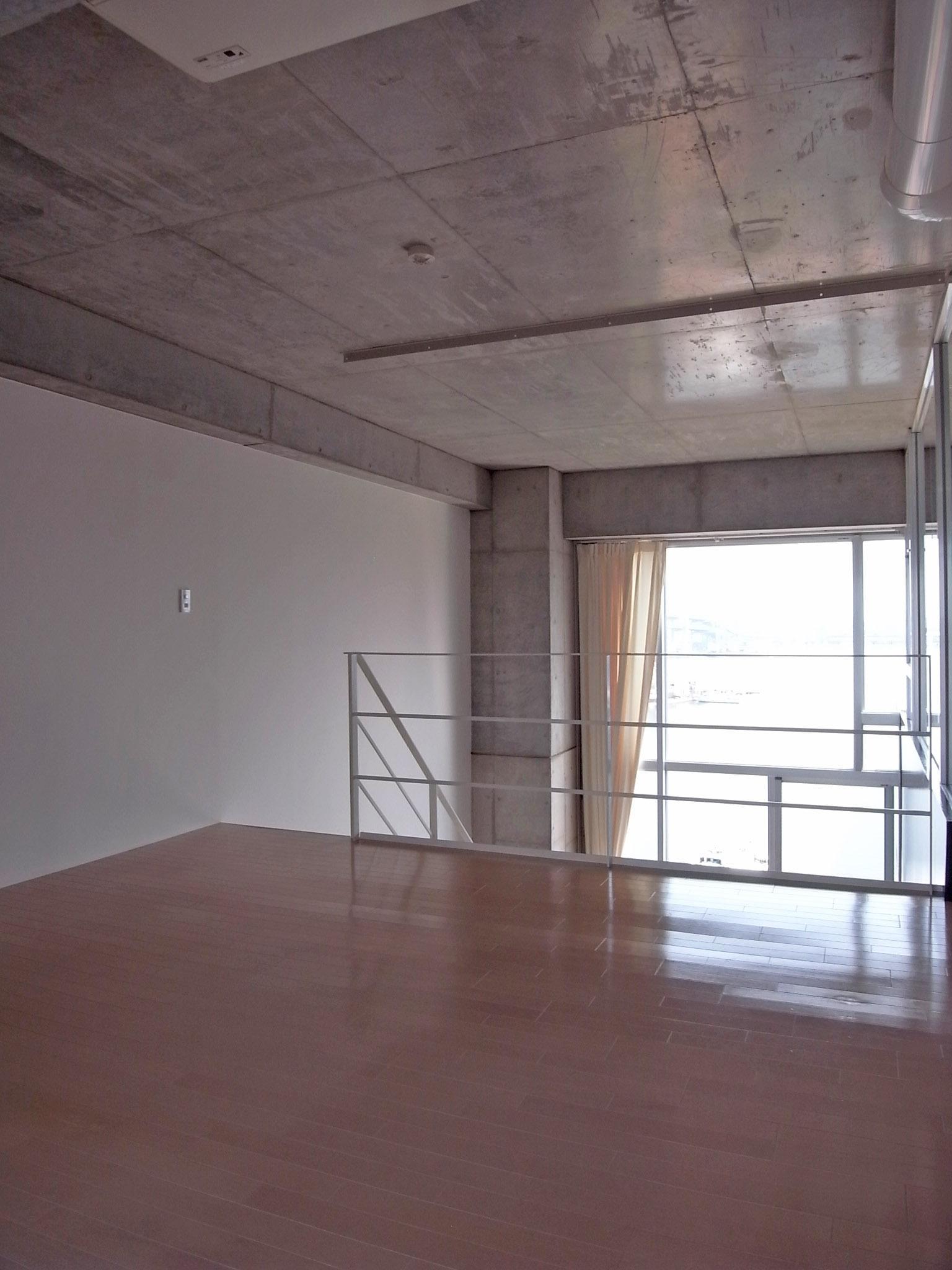 メゾネット2階部分