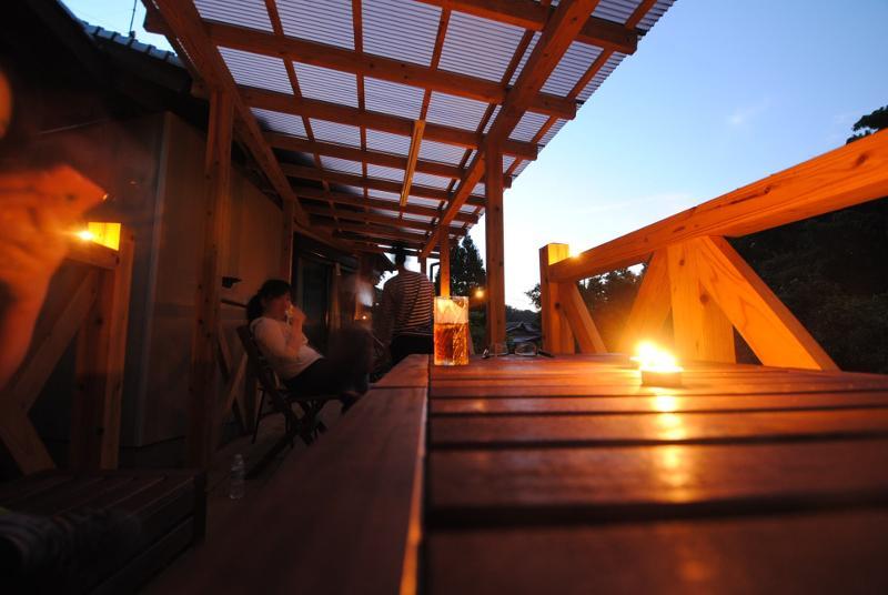 夜の雰囲気もまた一段と雰囲気があります。