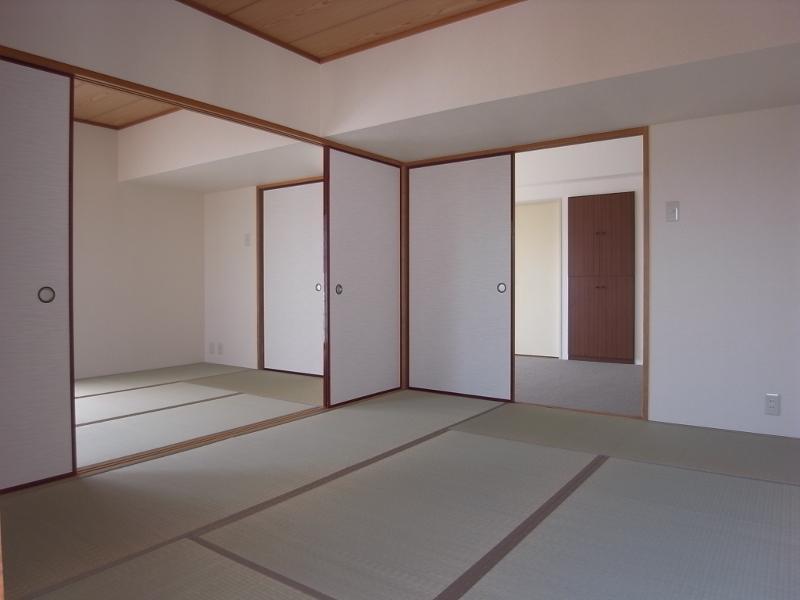 和室が2面あります。