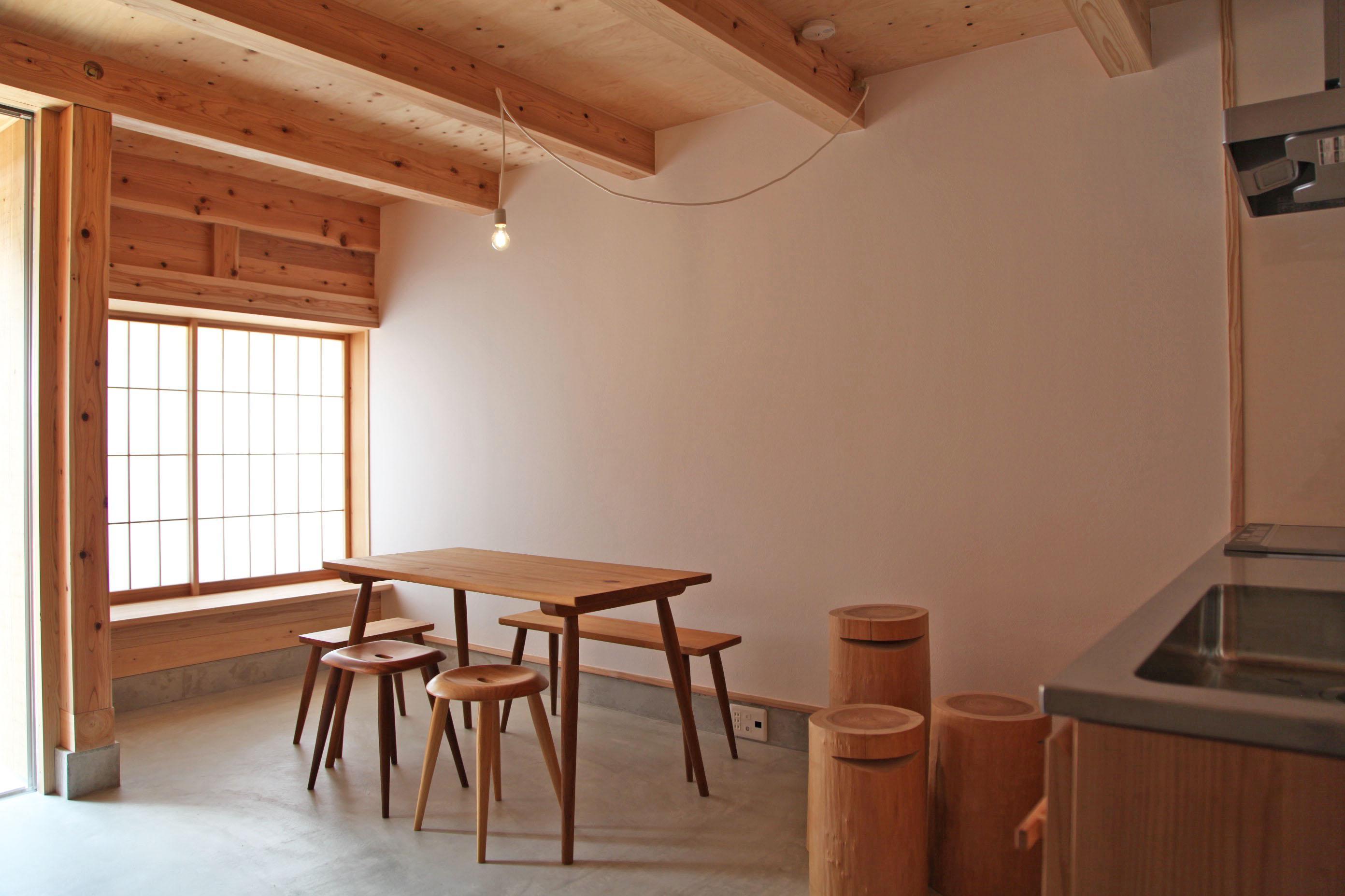 1階の土間空間。(家具は付きません)