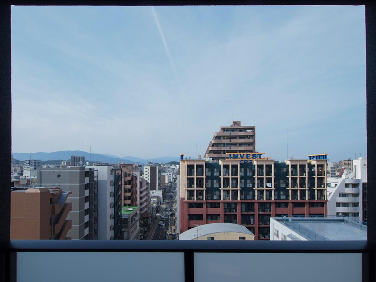 高層階ともなると眺望は抜けています