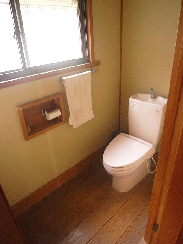 トイレは清潔感あります