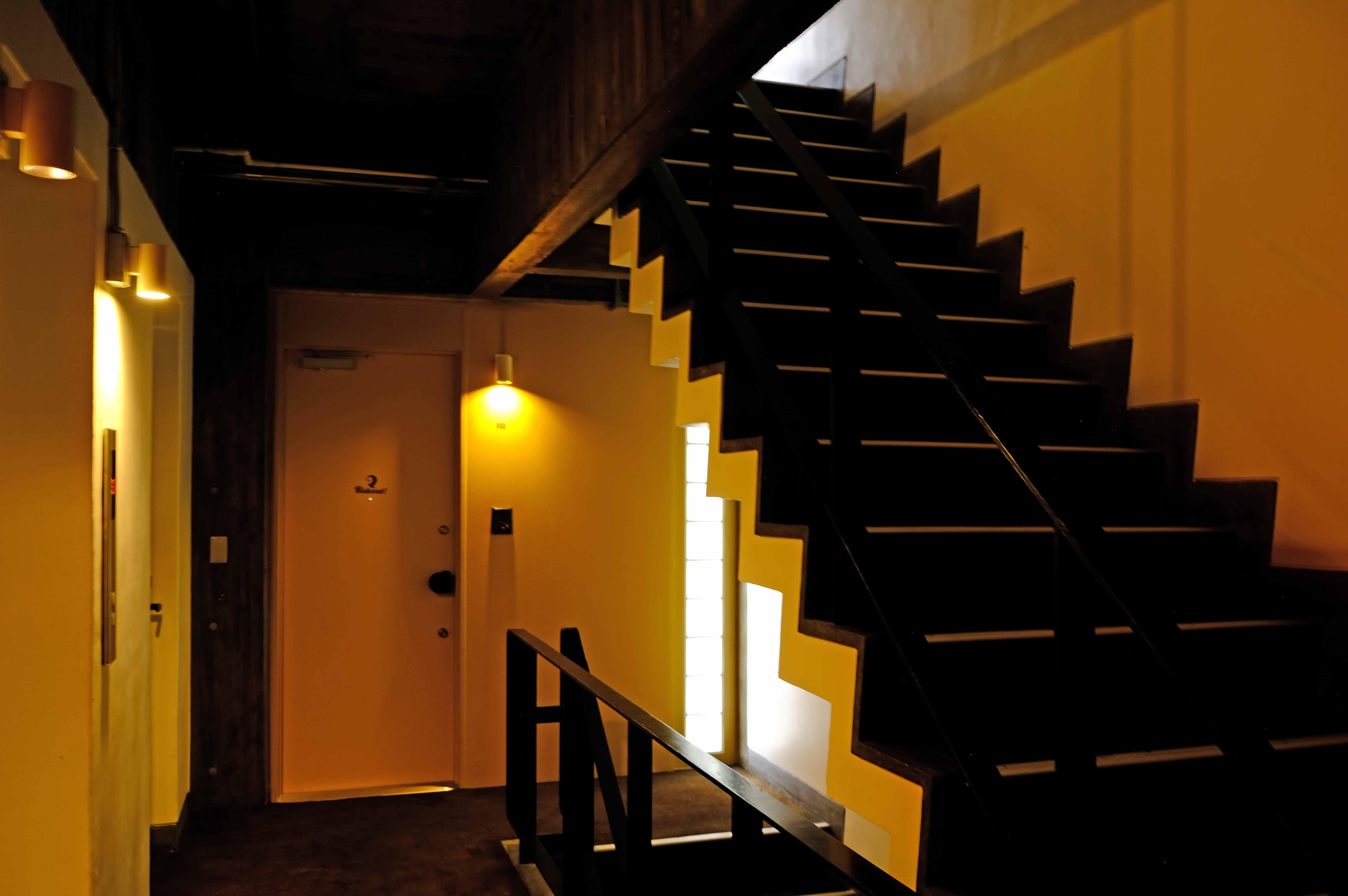 3階フロアのホール。