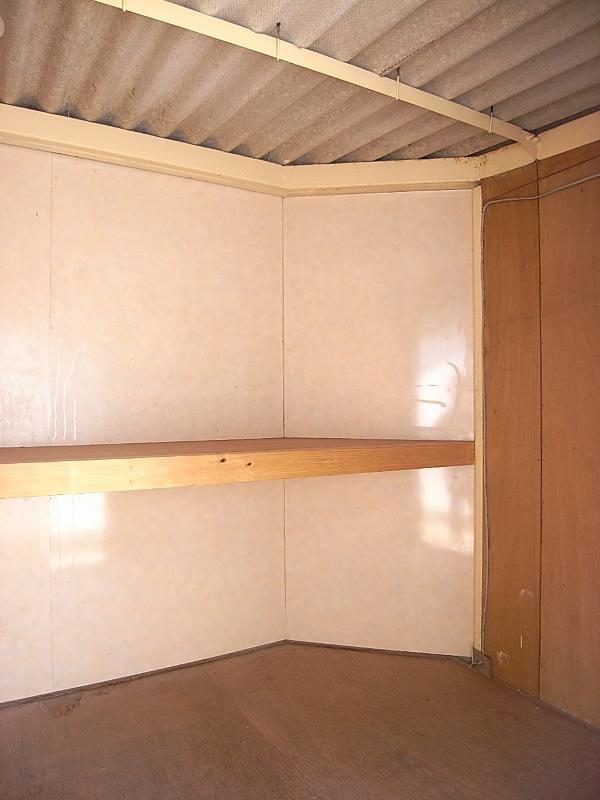 専用倉庫の内部。