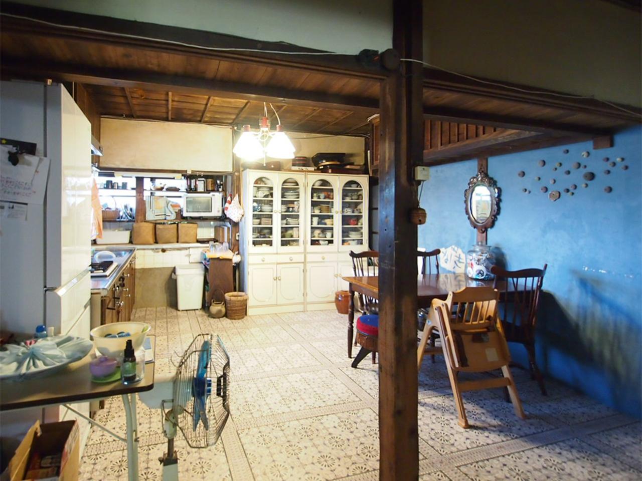 母屋1階キッチン。