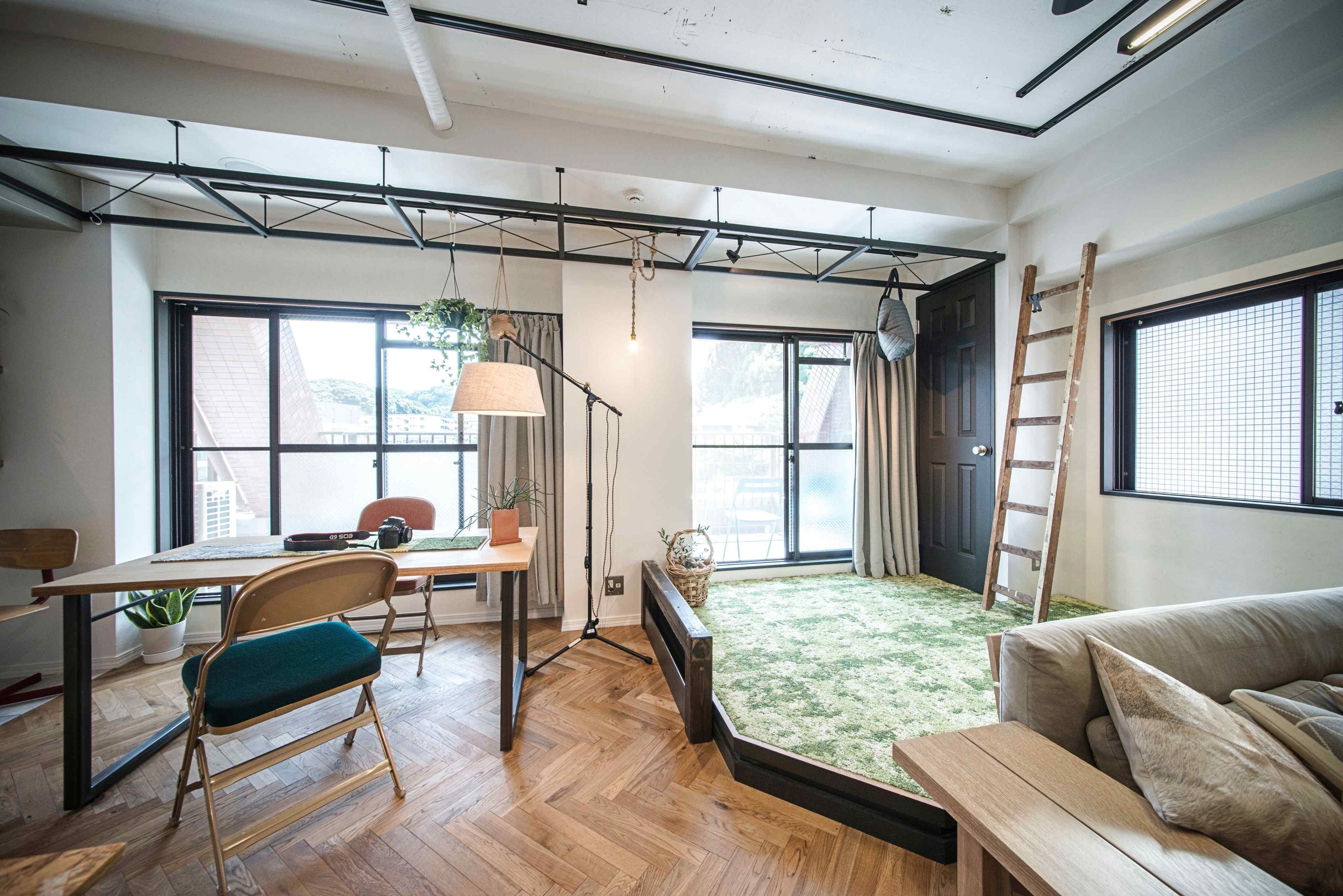 小上がりのスペースは将来的に個室にしてもいいかも。