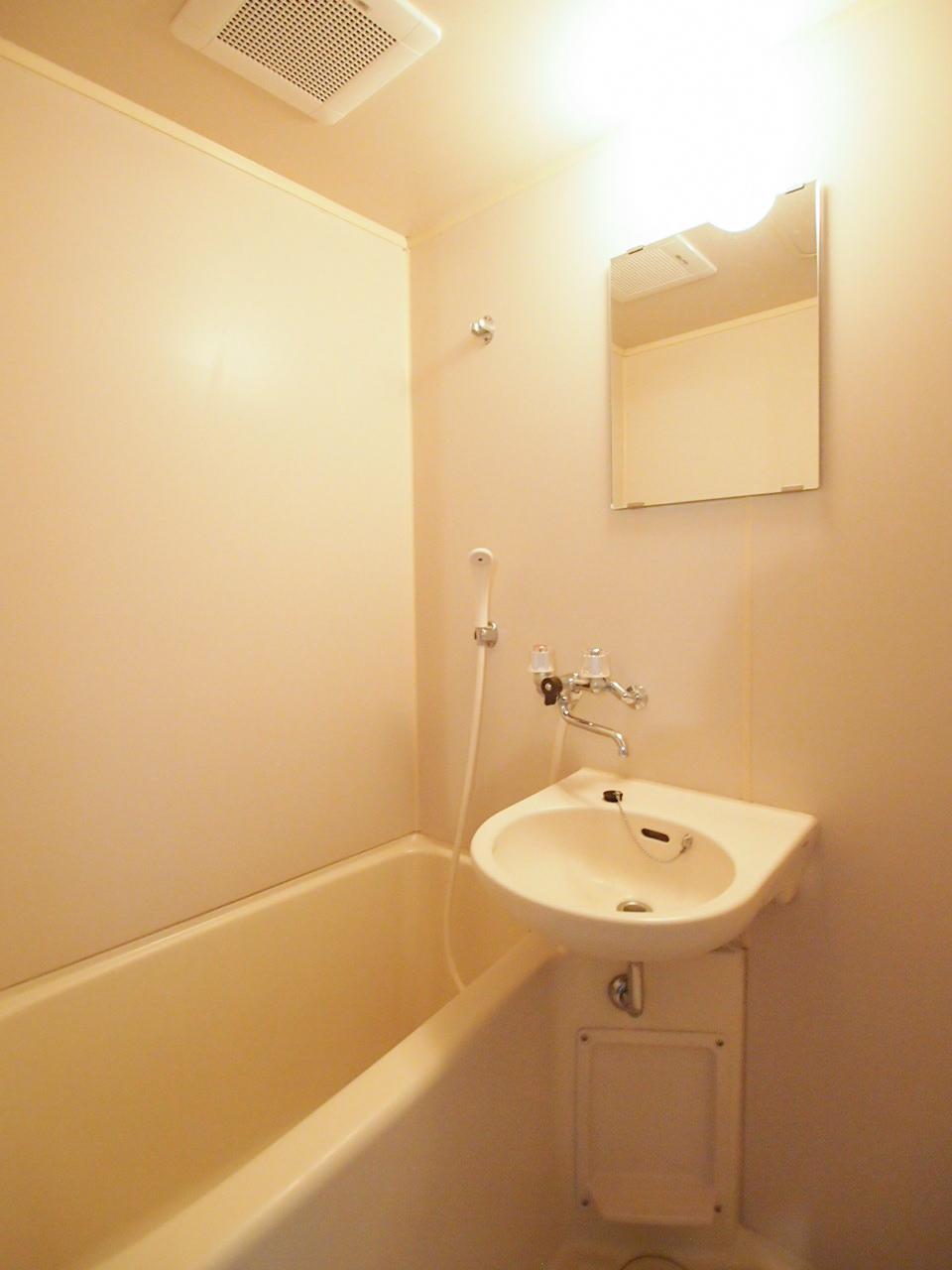 お風呂と洗面は一体型