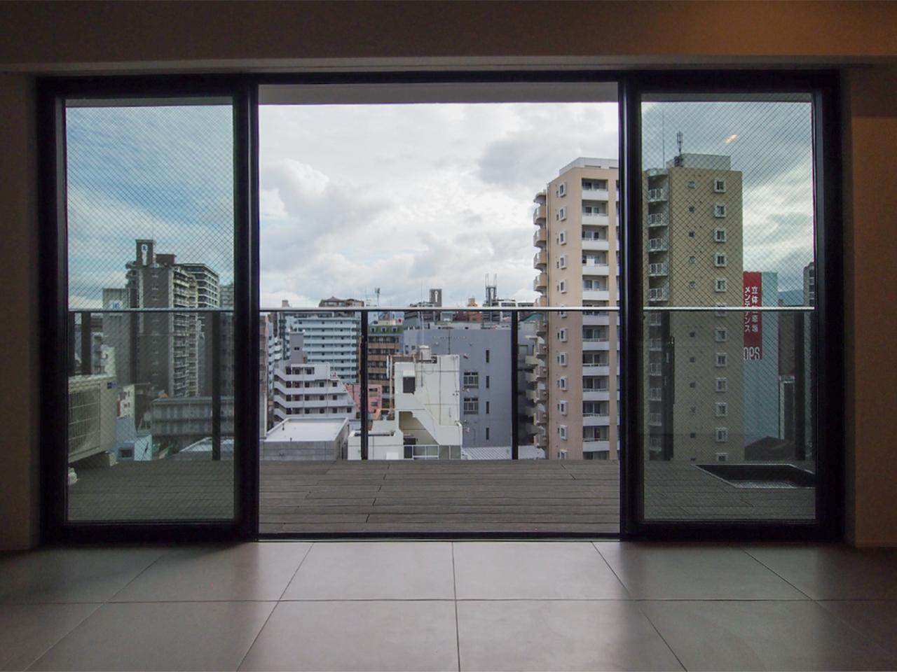 8階からの眺め