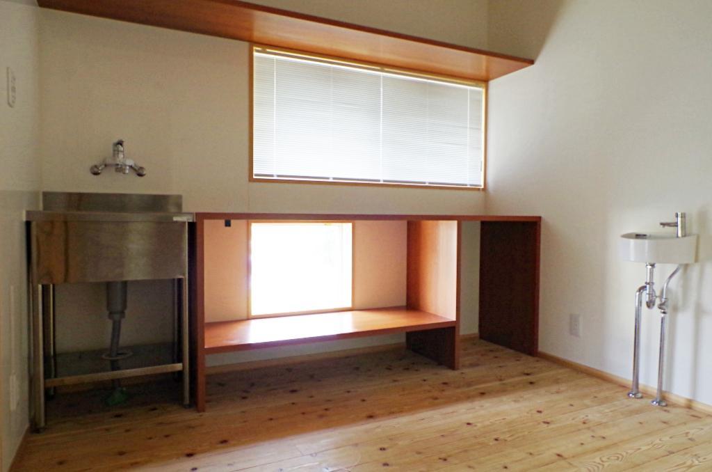 パン作りのための独立したスペース。