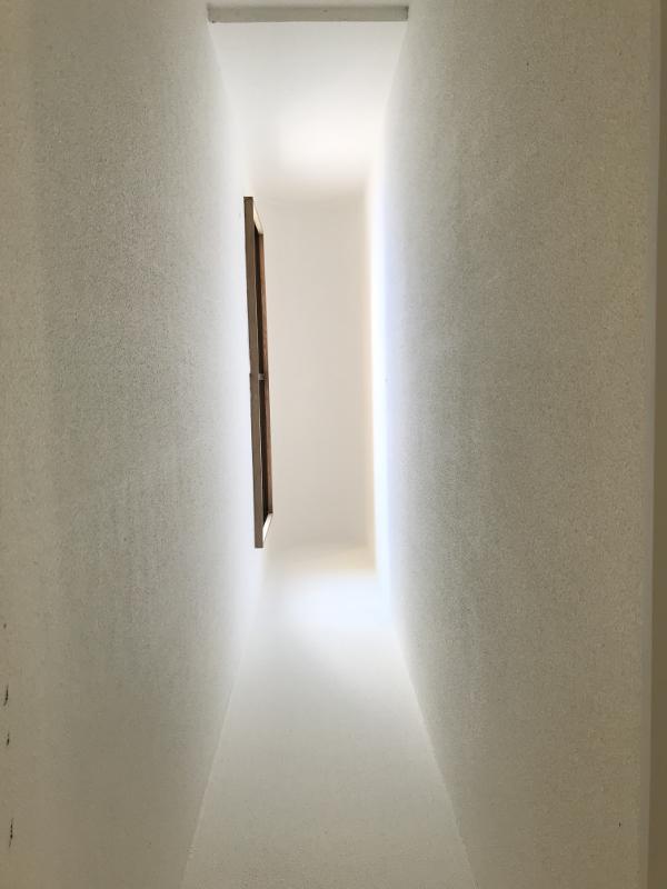 和室の吹き抜けを見上げると優しい陽の光が・・・