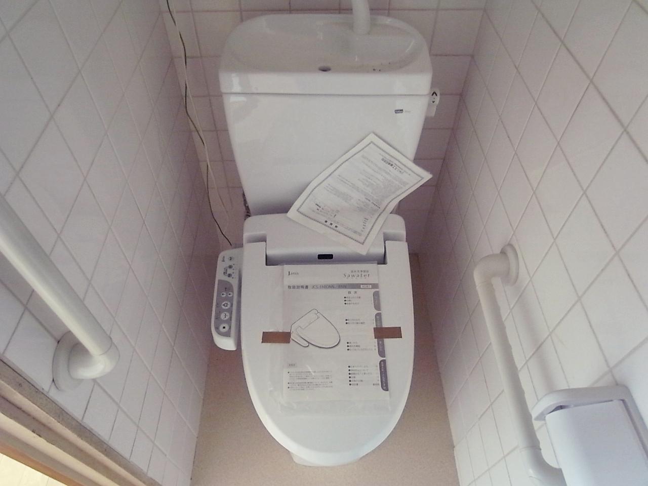 トイレは更新されてます。ちょっと狭いけど。