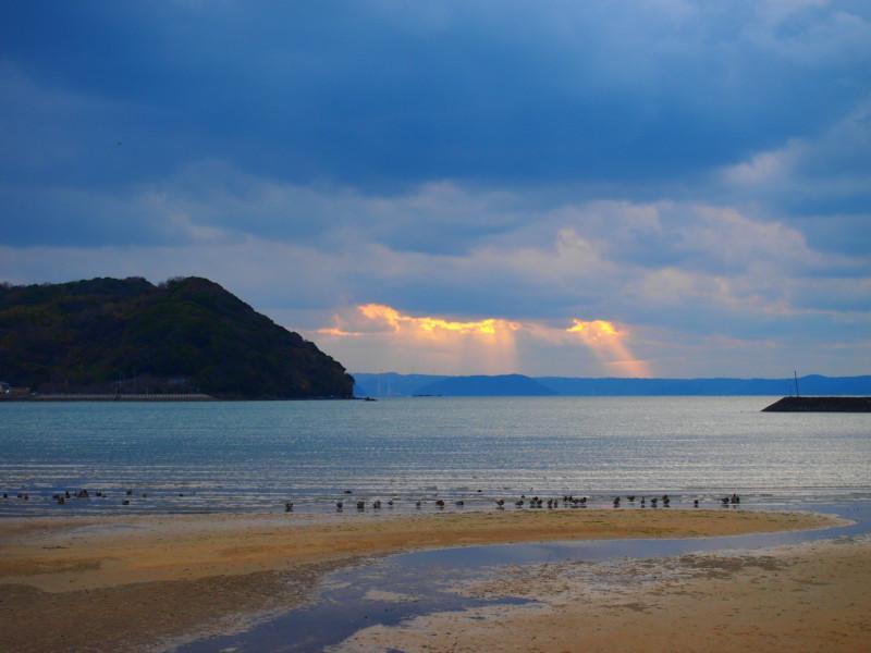 海はもちろんですが、日々異なる雲の表情もまた絶景では。