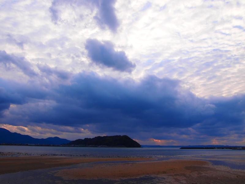 広い空、青い海、あこがれのロケーション。