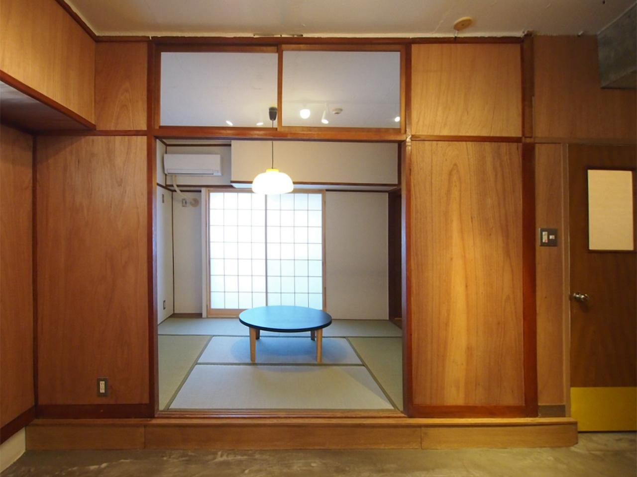 和室は小上がりになっています