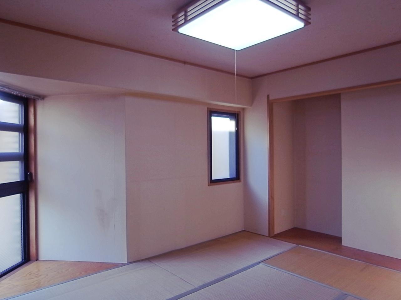 LDK横の和室。ここは空調付けられないのがネック。