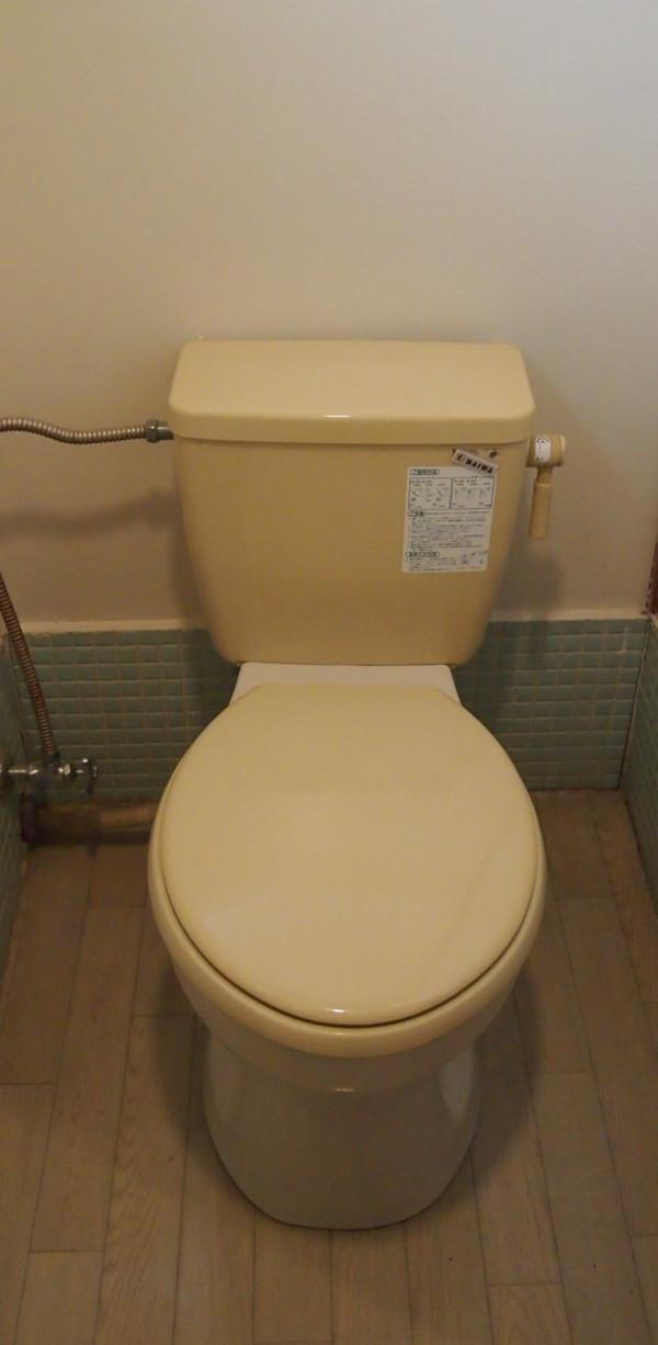 トイレは洋式ですが汲み取りとなります。