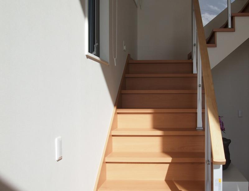 ここに腰かけての景色もGOOD!階段すらもビュースポットです。