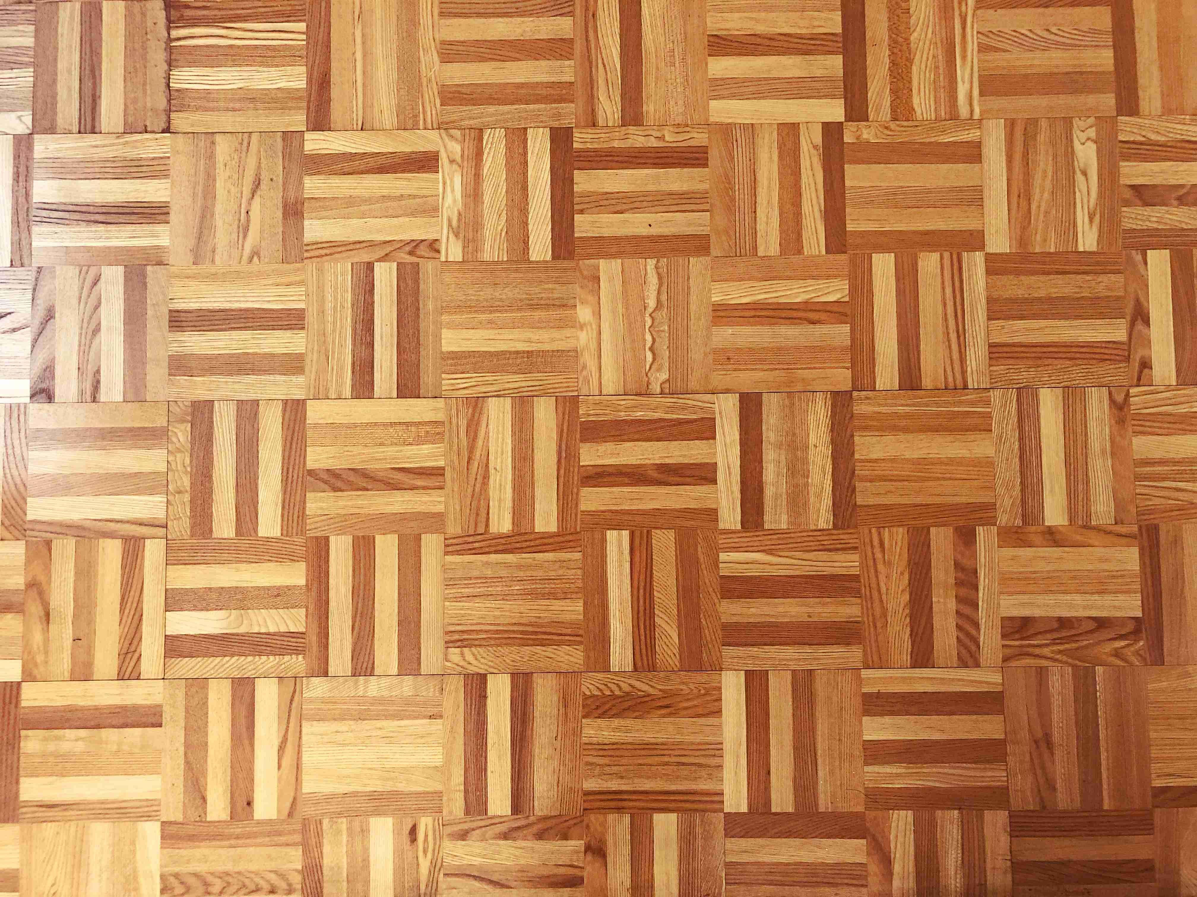 DKと洋室6畳はパーケットフロア。かわゆす。