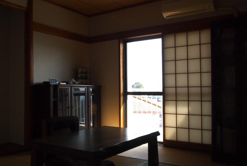 気持ちの良い和室。