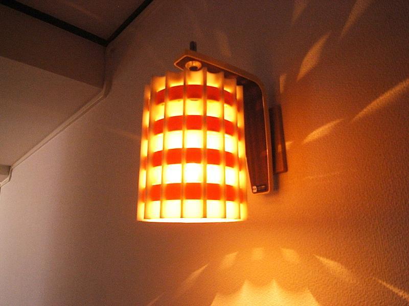 玄関の照明に一目惚れ・・・