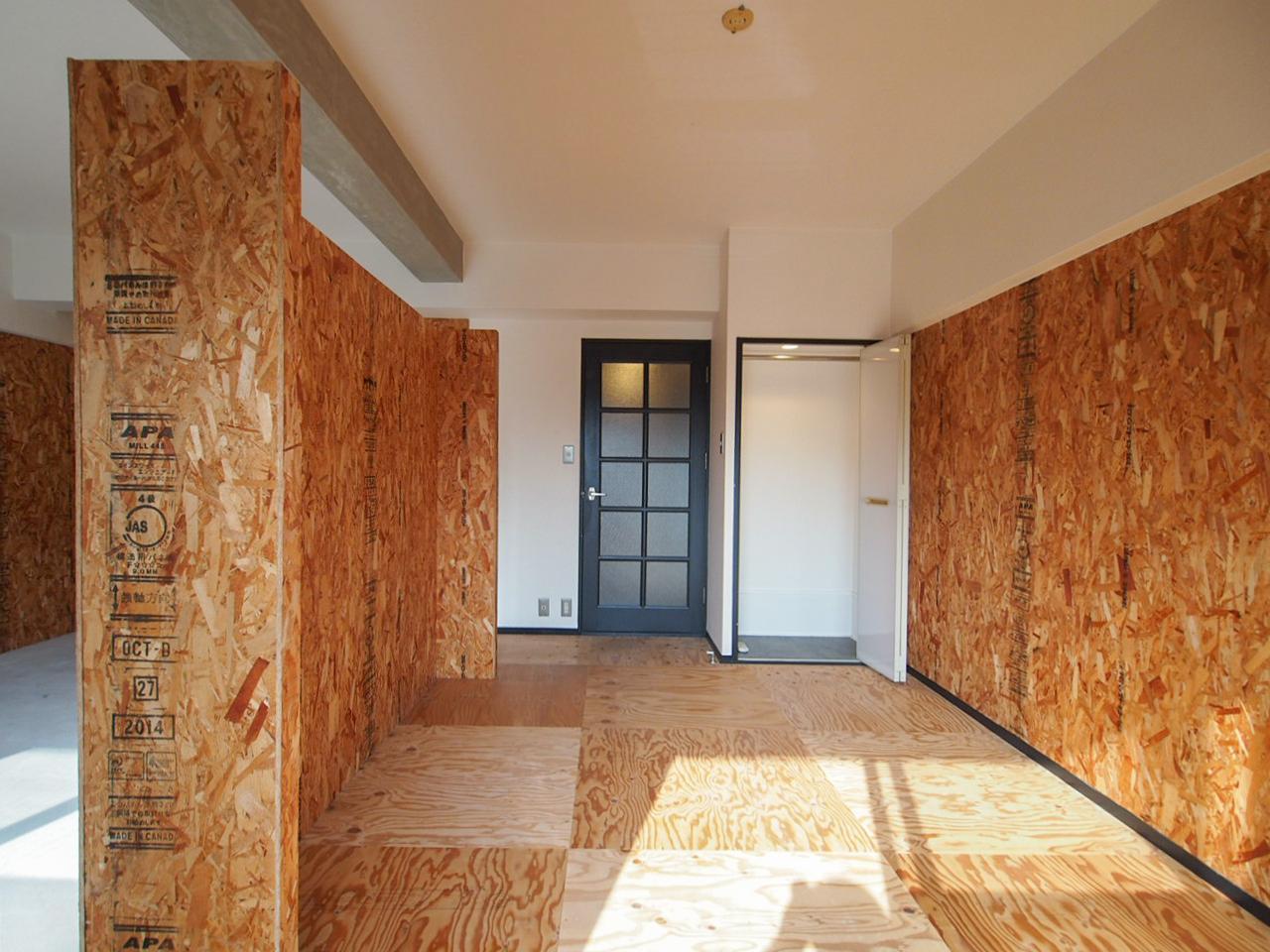 木質感たっぷりなお部屋