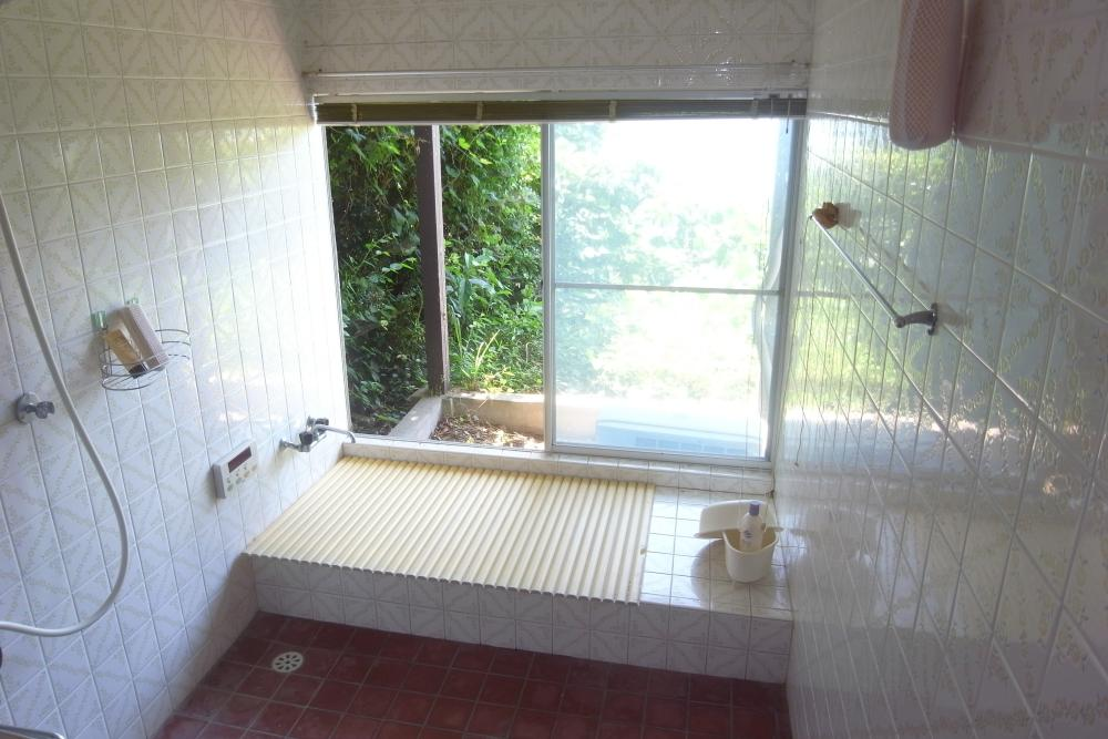 日の高いうちに入浴したい。