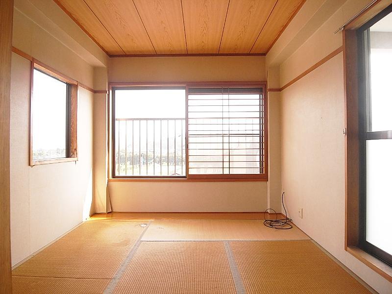 3階の和室。ここからの緑ビューもしっかりあります