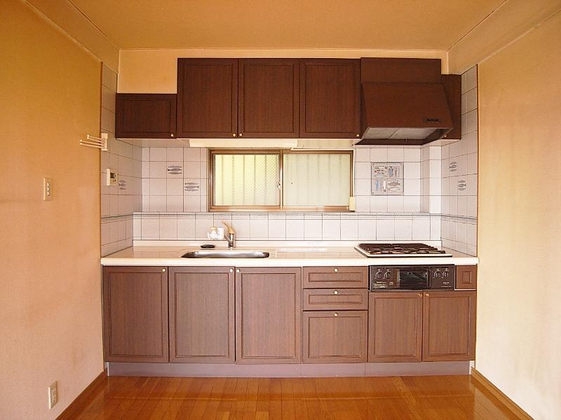 キッチン。すごく綺麗な状態
