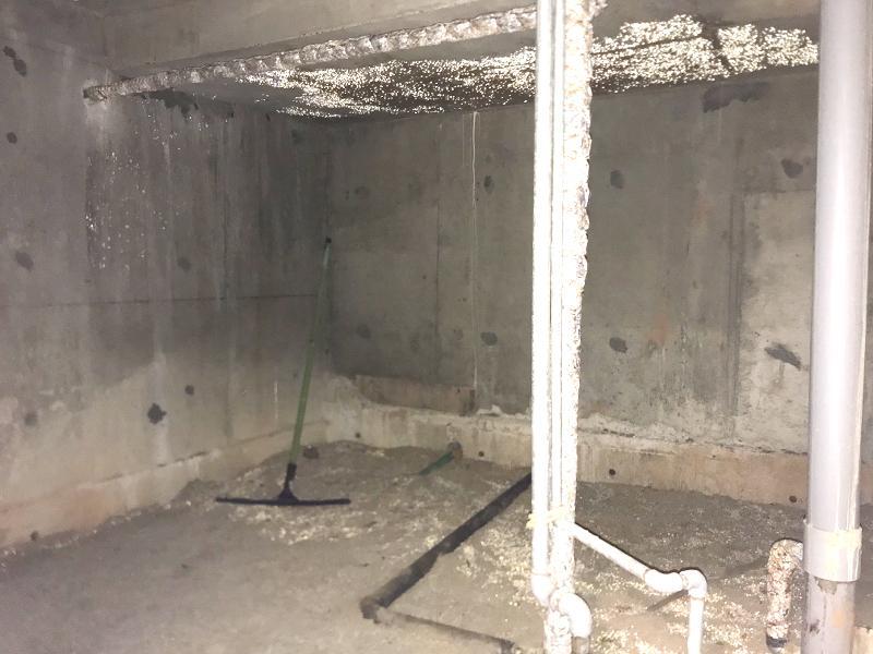階段横に謎の収納?倉庫?があります