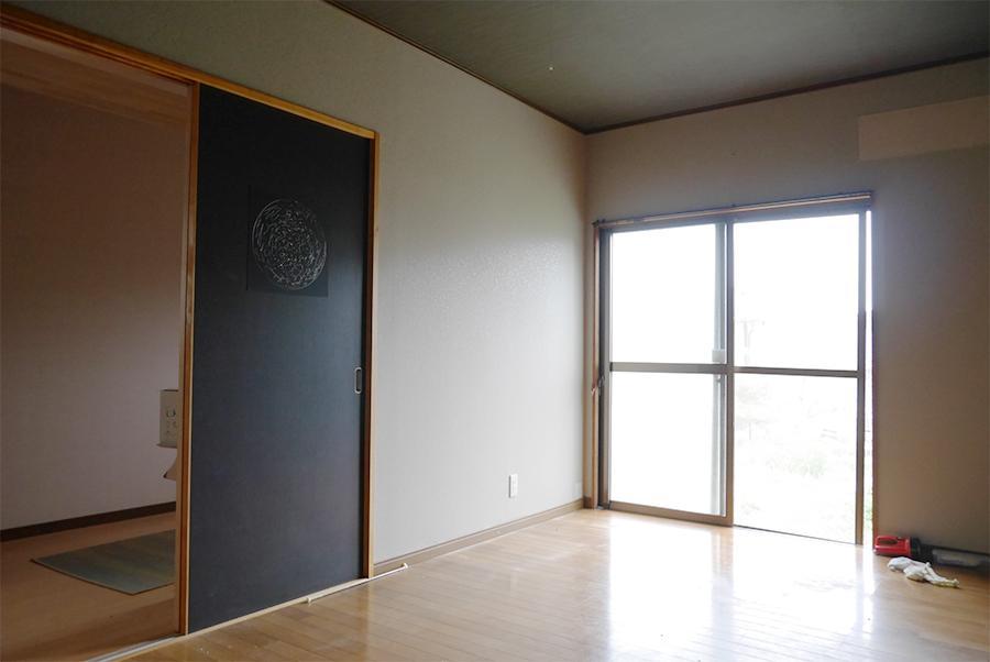 奥の洋室。