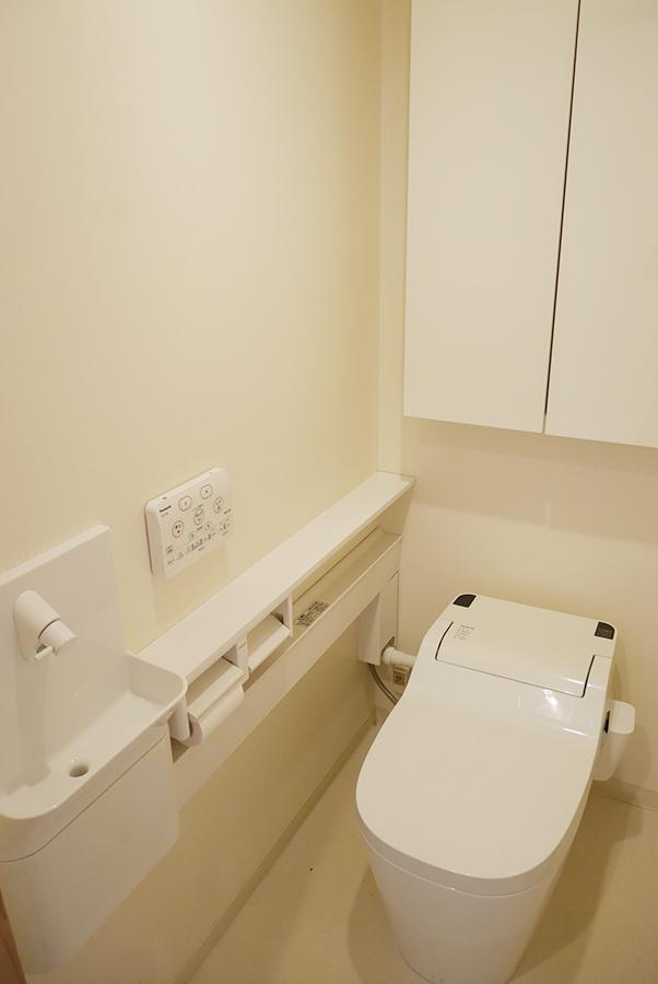 トイレも新しめ。
