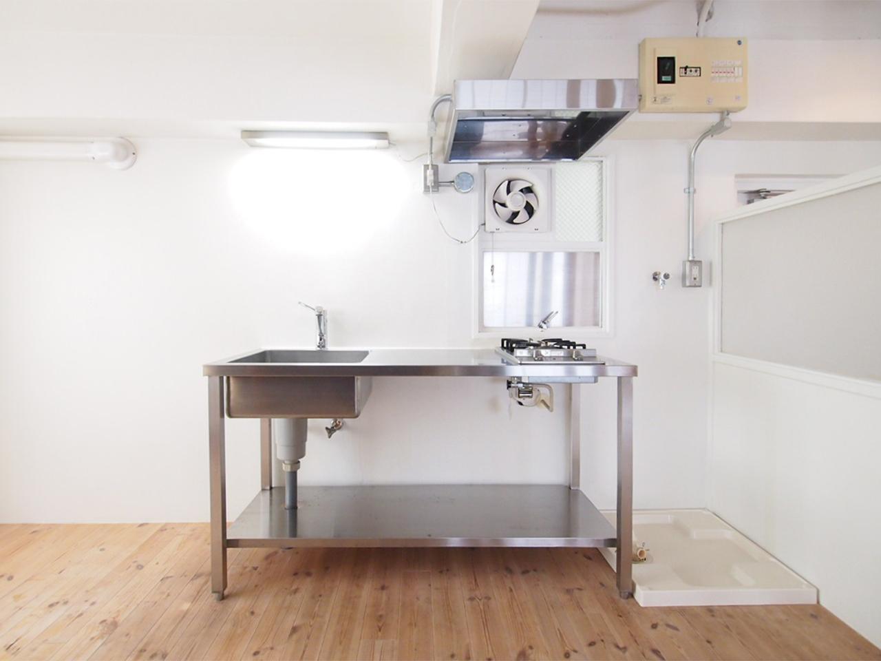 シンプルでスタイリッシュなキッチン