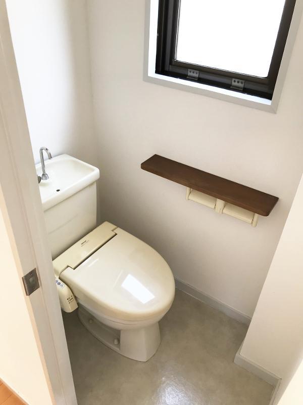 トイレは普通のスペース