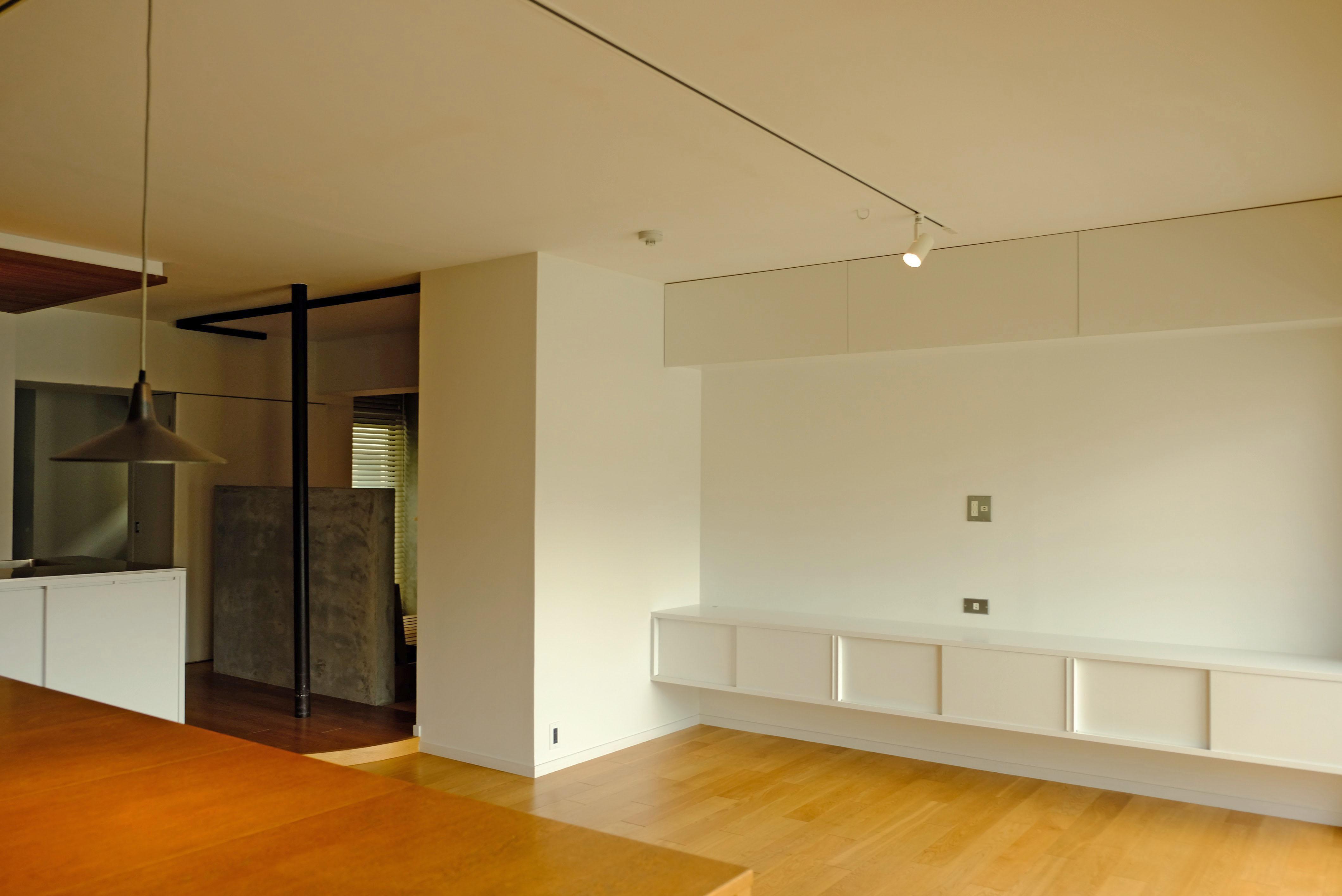 塗装壁の柔らかな雰囲気も良いです