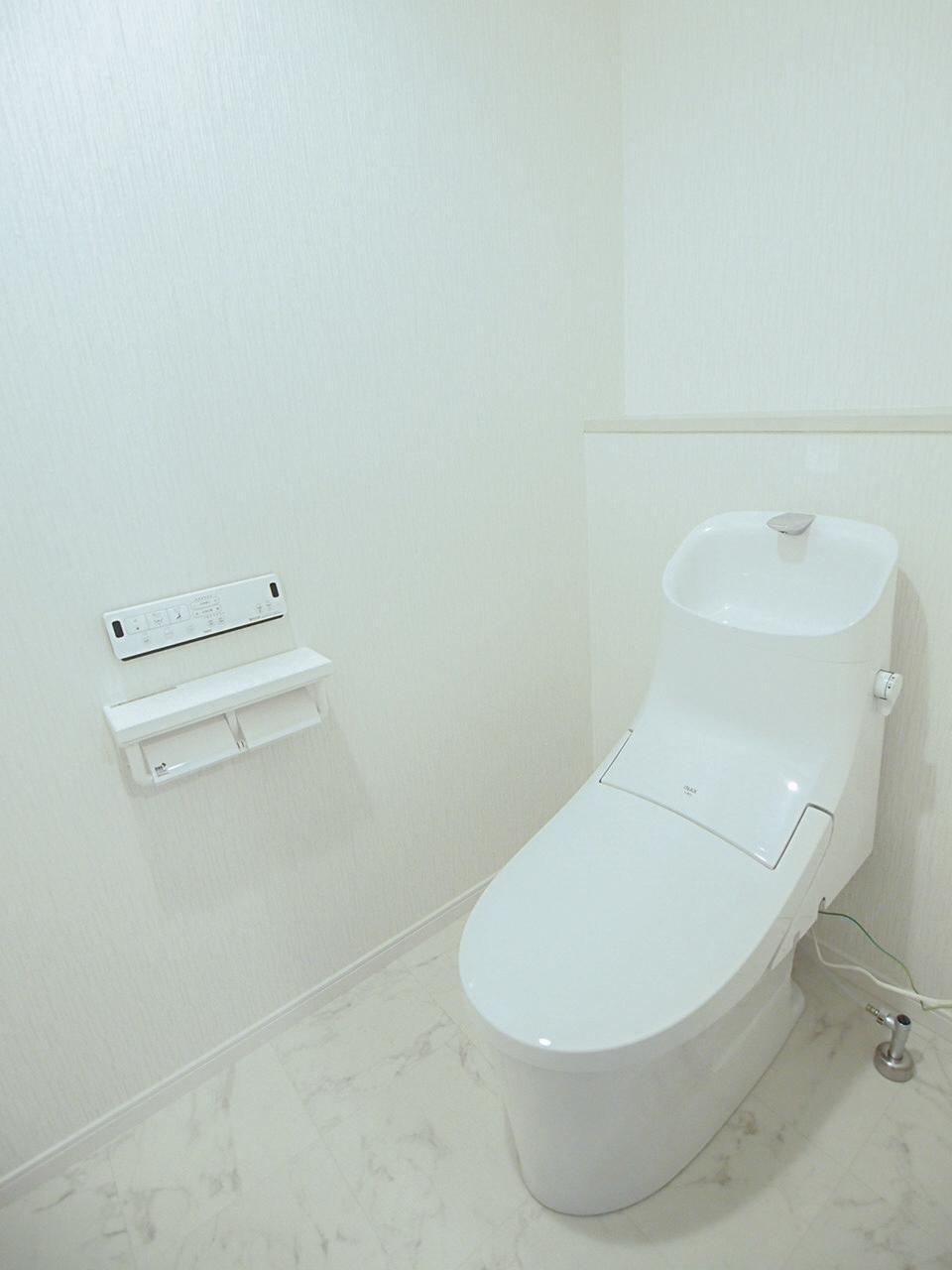 トイレも新設されてます