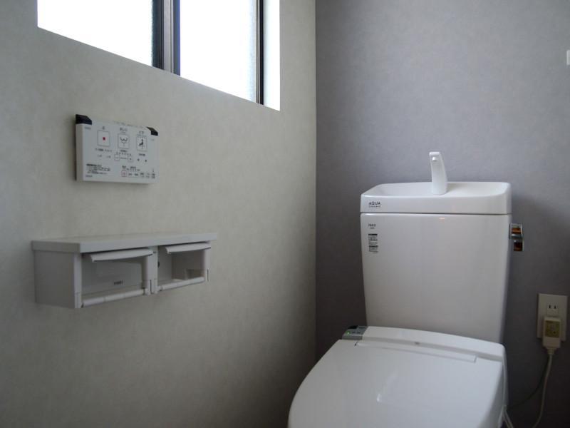 トイレは二階にもあります