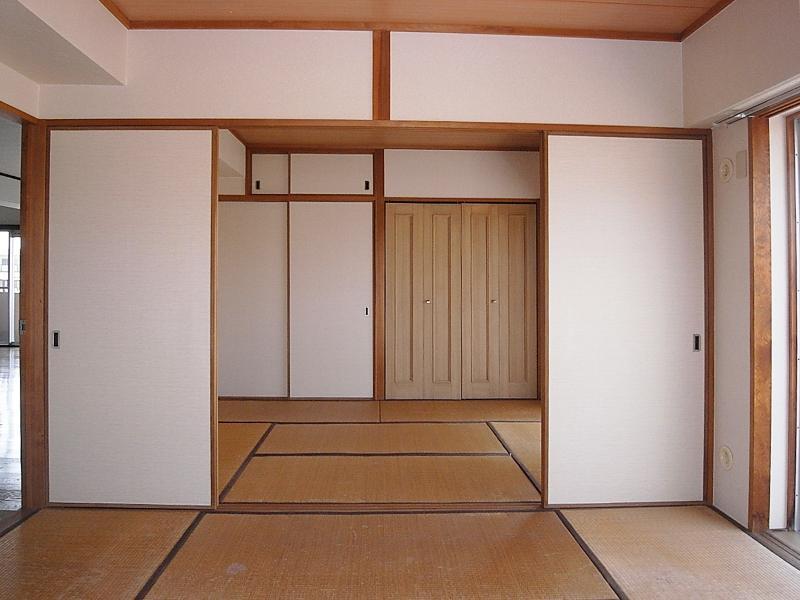 2部屋続きの和室