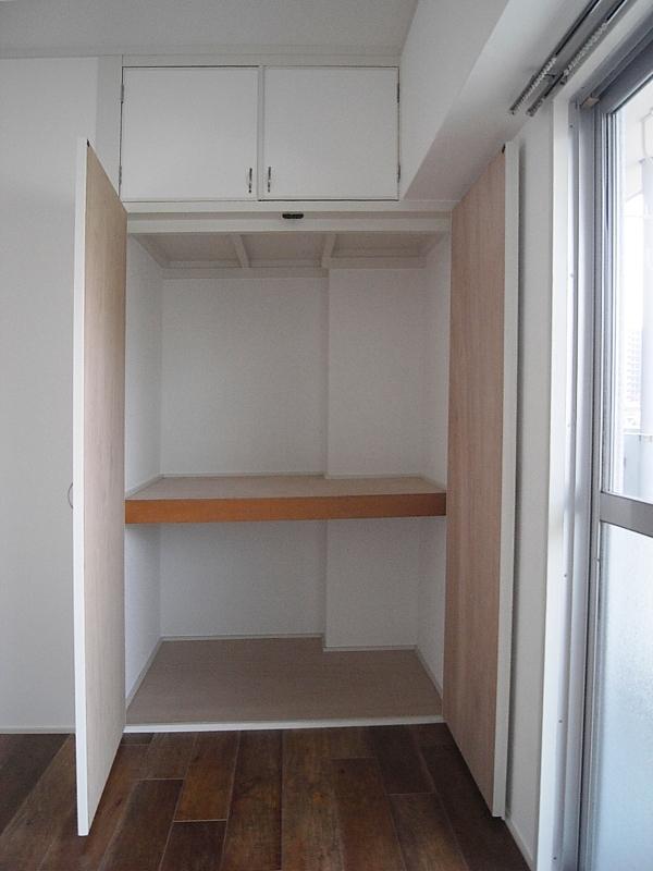 収納室も含め、綺麗にリフォームされています