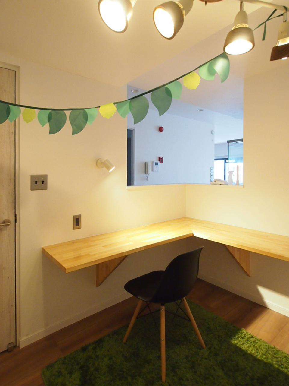 キッチン横のサービスルーム