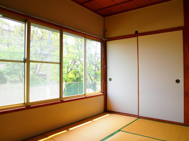 和室が多めです。こちらは2階和室。
