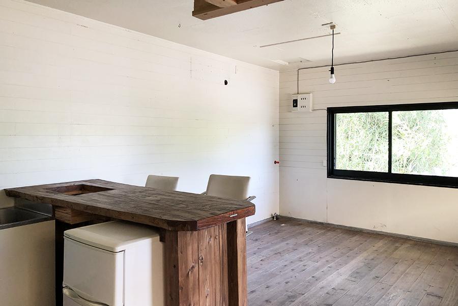 室内も全て木造。近隣の雰囲気によく馴染んでます。