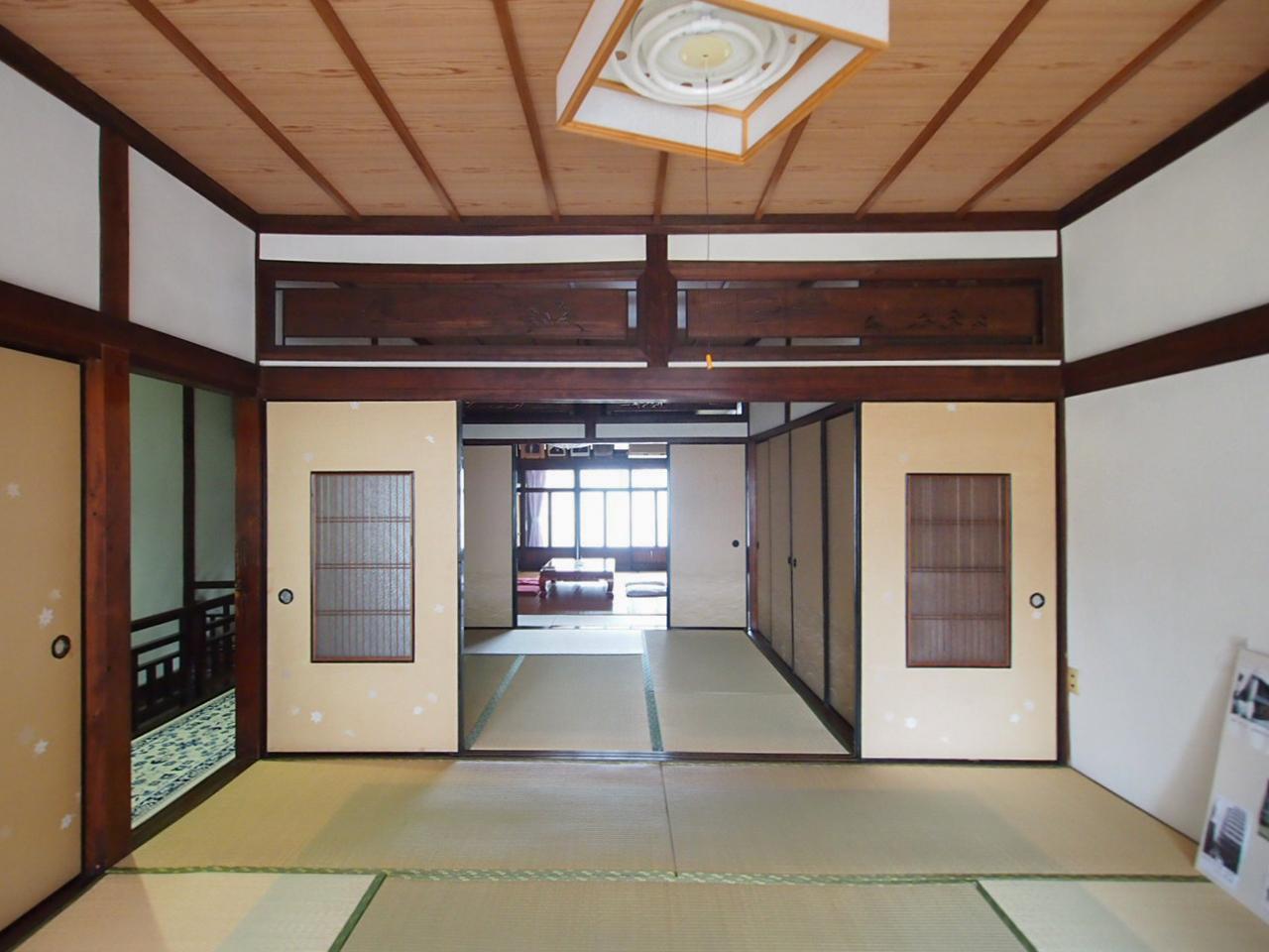 2階は3間続きの和室