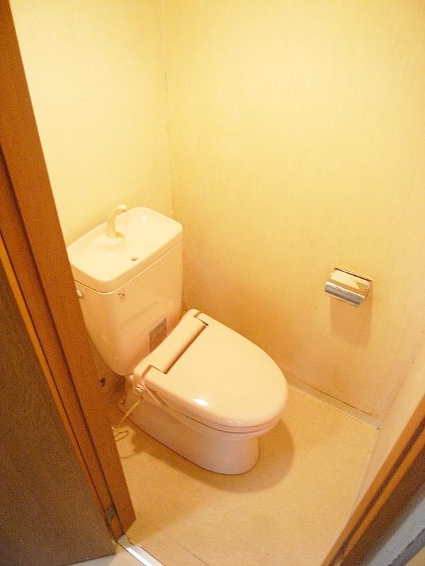 トイレもまた然り