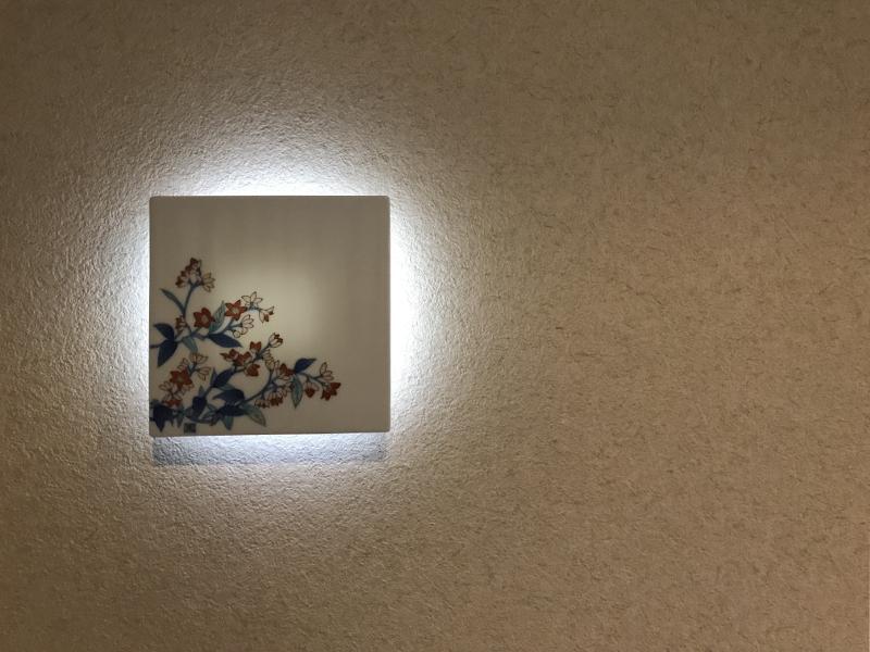 有田焼とのコラボによって、随所に個性的な世界観が垣間見えます