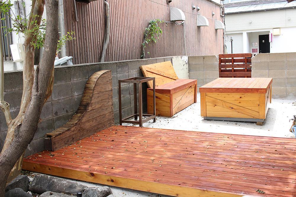 庭スペースもあります。