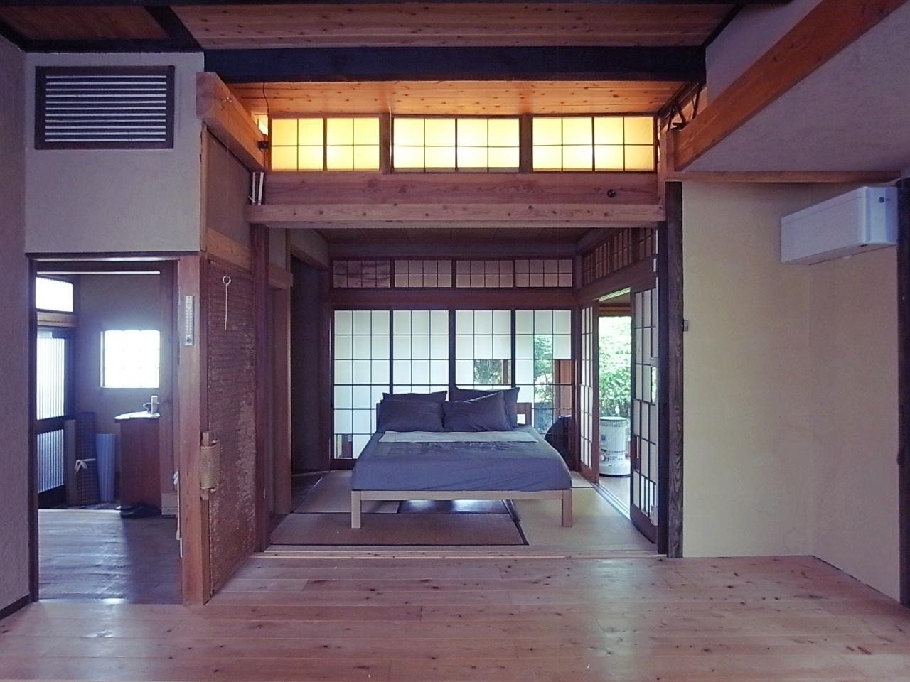LD脇の和室。元は茶室だったっぽい雰囲気。