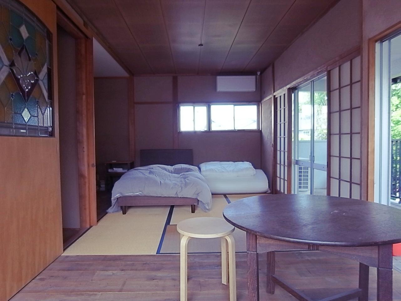 2階。6帖和室と4帖半の板間にWIC。